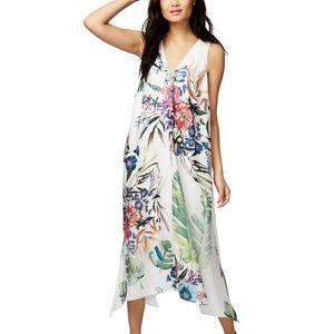 Rachel Roy Printed Contrast Dress - Havana Floral